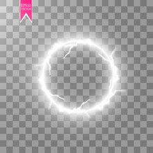 Transparent Light Effect Of El...