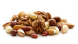 canvas print picture - nuts mix for a healthy diet (cashew, pistachios, hazelnuts, walnuts, almonds)