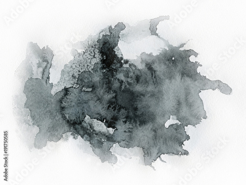 sztuka-akwareli-czarna-plama-na-akwareli