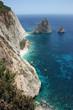 Zakynthos Island coastline, Greece