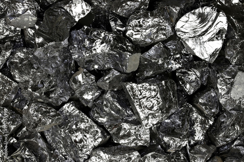 Obraz high purity polycrystalline silicon from Freiberg/ Germany for background use - fototapety do salonu