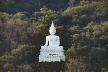 White Buddha On The Mountain