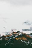 Zmierzch gór krajobraz Podróżuje spokojnego scenerii widok z lotu ptaka - 191765714