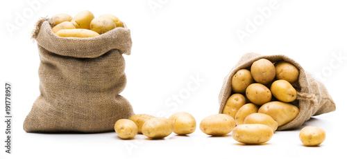 Kartoffeln im Sack