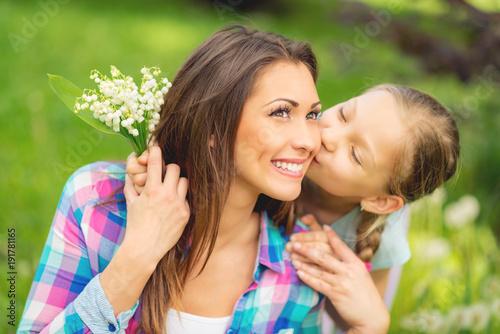 Poster Muguet de mai Mom, I Love You