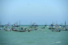 Rustic Fishing Boats