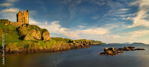 Fotografie, Obraz Gylen Castle bay