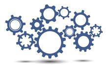 Concept Teamwork, Generator Business Idea - Stock Vector