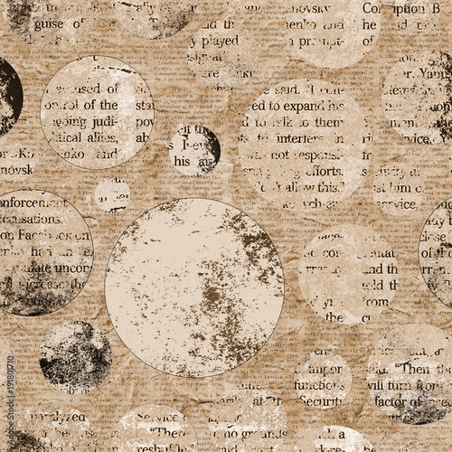 Poster Kranten Vintage newspaper texture background with space for text
