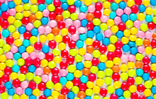 Background Of Multicolored Sweet Candy Dragees