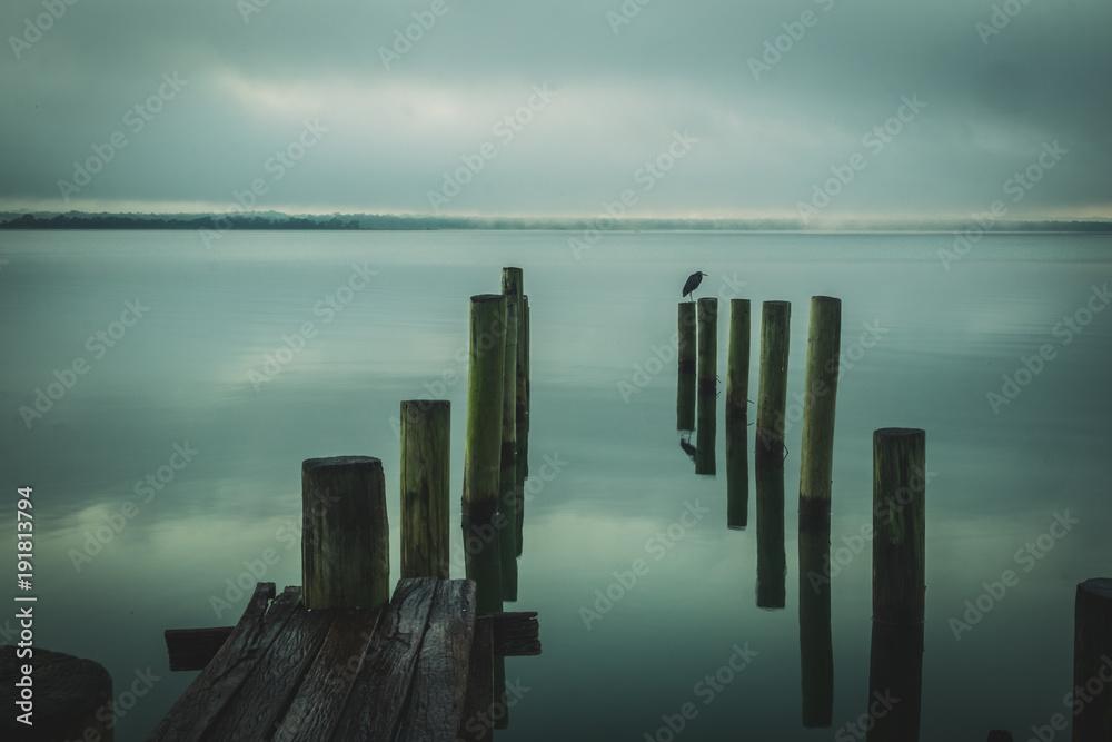 Fototapeta The dock, El Remate
