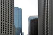 Windows of Skyscraper Business Office, Corporate building in San Francisco, California, USA.