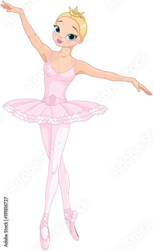 In de dag Sprookjeswereld Dancing Ballerina