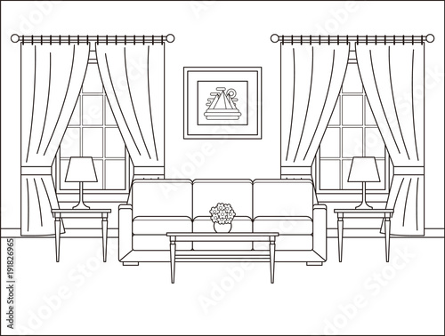 Living Room Outline