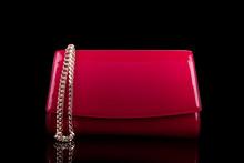 Elegant Red Patent Leather Handbag