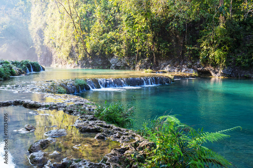 Poster Riviere Pools in Guatemala