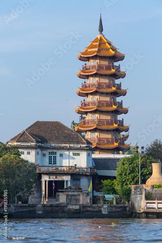 Photo  Pagoda in Bangkok