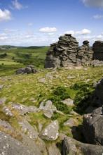 UK, Devon, Dartmoor, Hound Tor