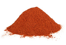 Pile Of Red Pepper Powder Isol...
