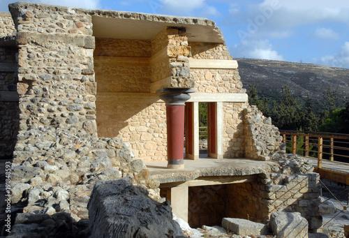 Fotografie, Obraz  crête, Héraklion, site archéologique, palais minoen,