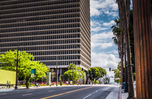 Building Of The Federal Court In Los Angeles, California, USA