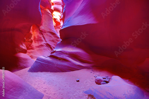 Foto op Canvas Bordeaux Antelope canyon
