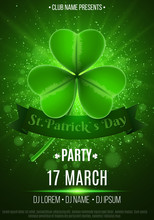 Flyer For A Happy Saint Patric...