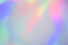 Blurry Abstract Pastel Hologra...