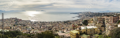 Valokuva  Naples, Panoramic view. Italy