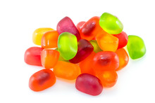 Fruit Gummi Or Jelly Candies A...