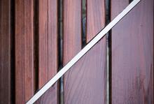 Wet Wooden Bench Texture. Vign...