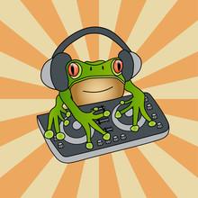 Waxy Monkey Tree Frog DJ Mixer...