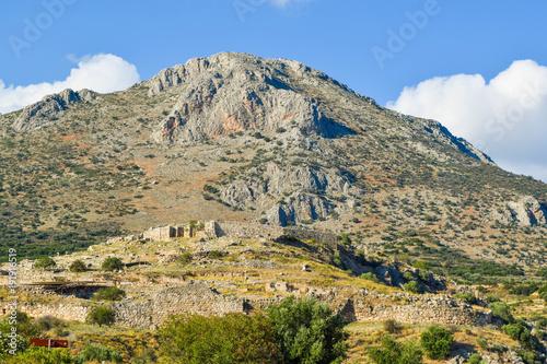 Foto op Aluminium Rudnes Ruins of Mycenae Citadel, Greece.