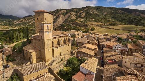 Fotografía  Biel village in Zaragoza province, Spain