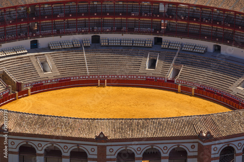 Detail of Bullfighting Arena