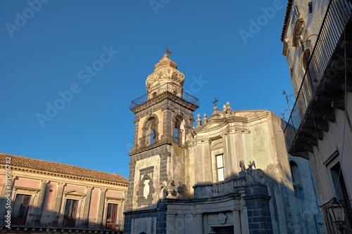 Fényképezés  Church In Town Of Castiglione Di Sicilia, Sicily