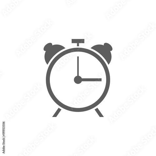 alarm clock icon  Element of sport for mobile concept and