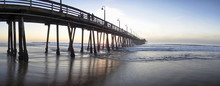 Another View Of The Imperial Beach Pier In San Diego California.