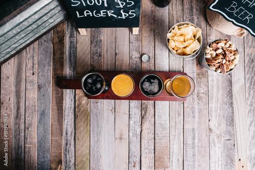 Photo  Beer Tasting in Brewery
