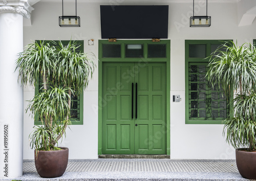 Fotografie, Obraz  Asian house style