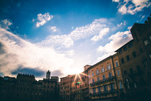 Sienna Italy: Sun Setting On The Square