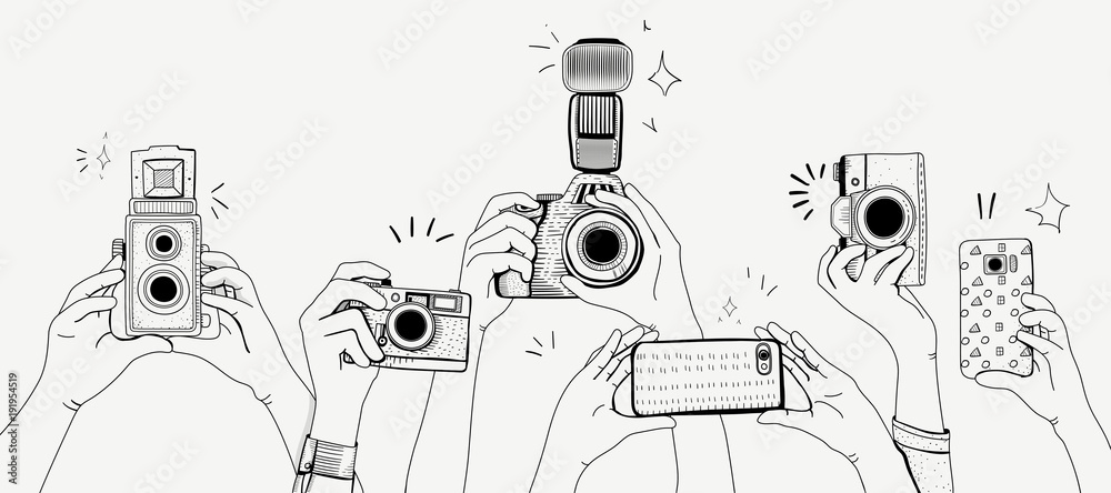 Fototapety, obrazy: Illustration of digital device