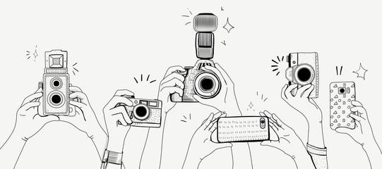 Illustration of digital device