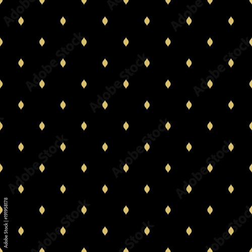 Keuken foto achterwand Leder Seamless geometric vector pattern. Modern ornament with golden stars. Geometric abstract pattern