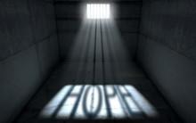 Sunshine Shining In Prison Cell Window