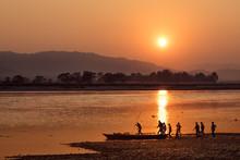 River Narayani, Chitwan NP, Ne...