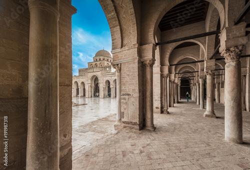 Tunisie The Great Mosque of Kairouan in Tunisia