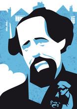 Charles Dickens Vector Illustr...