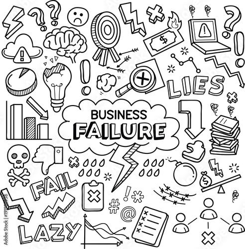 Business Failure Poster