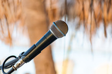 Microphone Setting For Outdoor...